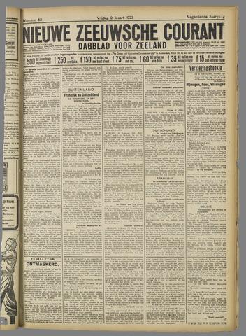 Nieuwe Zeeuwsche Courant 1923-03-02