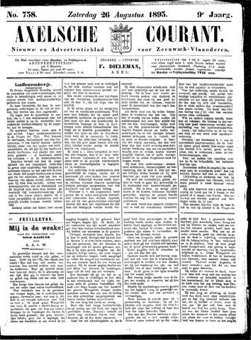 Axelsche Courant 1893-08-26