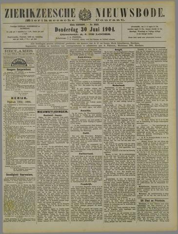 Zierikzeesche Nieuwsbode 1904-06-30