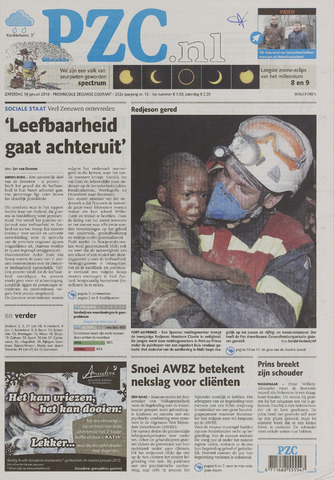 Provinciale Zeeuwse Courant 2010-01-16