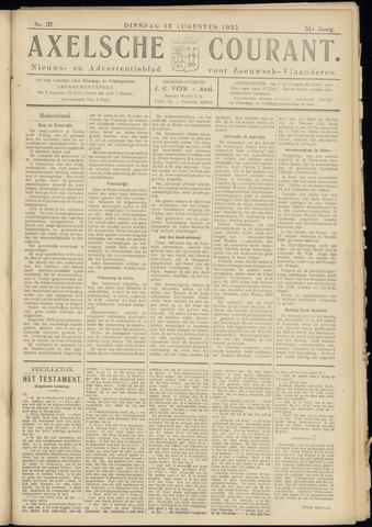 Axelsche Courant 1935-08-13