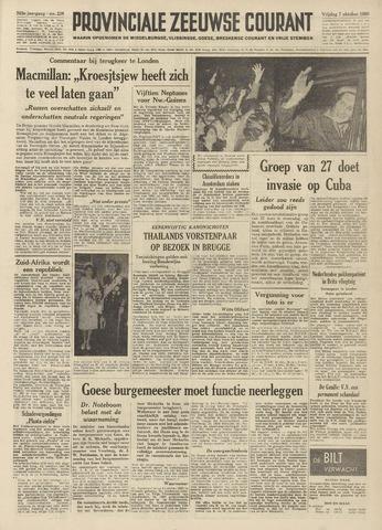Provinciale Zeeuwse Courant 1960-10-07