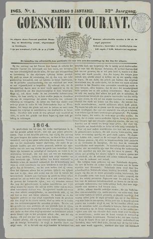 Goessche Courant 1865