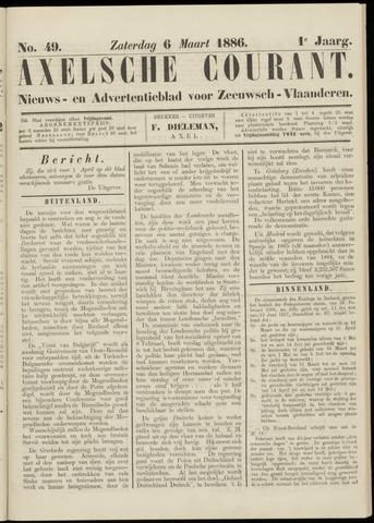 Axelsche Courant 1886-03-06