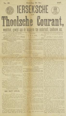 Ierseksche en Thoolsche Courant 1887-05-28