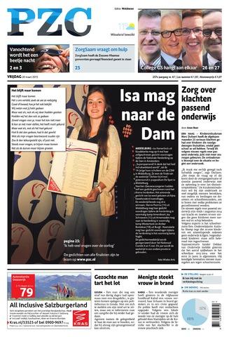 Provinciale Zeeuwse Courant 2015-03-20