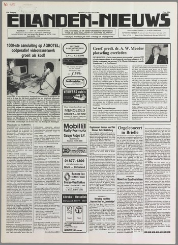 Eilanden-nieuws. Christelijk streekblad op gereformeerde grondslag 1989-08-11