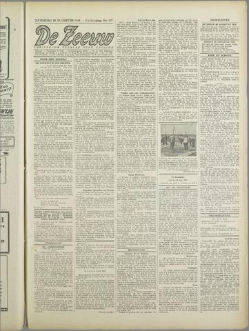 De Zeeuw. Christelijk-historisch nieuwsblad voor Zeeland 1943-08-28