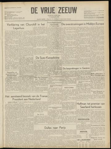 de Vrije Zeeuw 1954-07-13