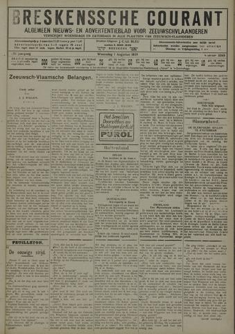 Breskensche Courant 1928-08-01