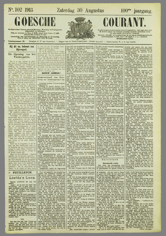 Goessche Courant 1913-08-30