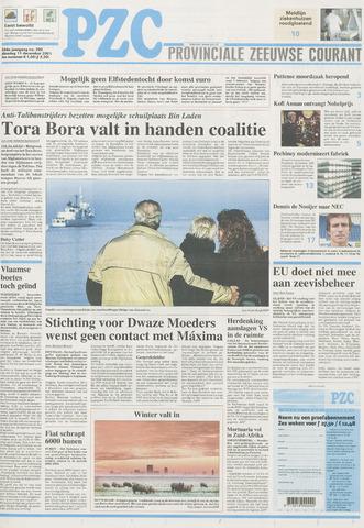 Provinciale Zeeuwse Courant 2001-12-11