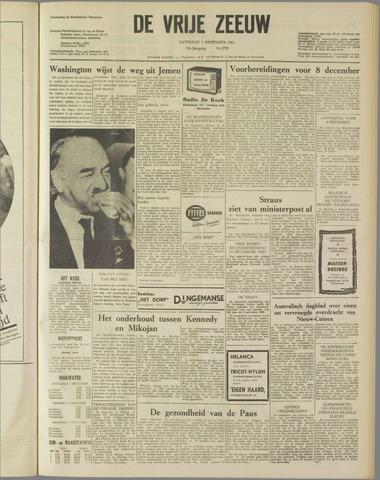 de Vrije Zeeuw 1962-12-01