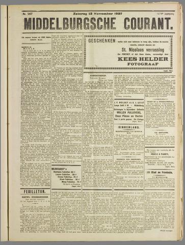 Middelburgsche Courant 1927-11-12