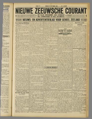 Nieuwe Zeeuwsche Courant 1929-09-10