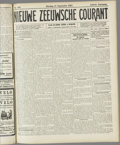 Nieuwe Zeeuwsche Courant 1912-09-17