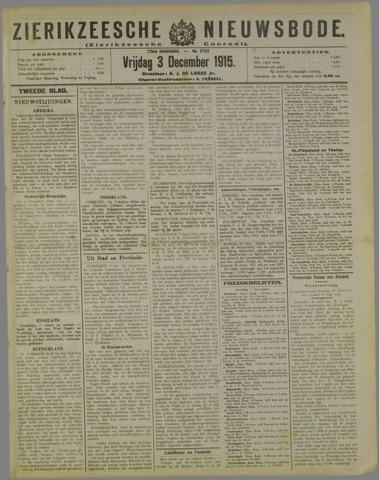 Zierikzeesche Nieuwsbode 1915-12-03
