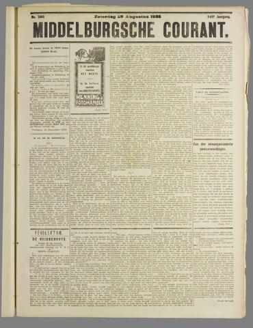 Middelburgsche Courant 1925-08-29