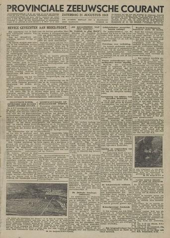 Provinciale Zeeuwse Courant 1943-08-21