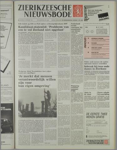Zierikzeesche Nieuwsbode 1991-02-18