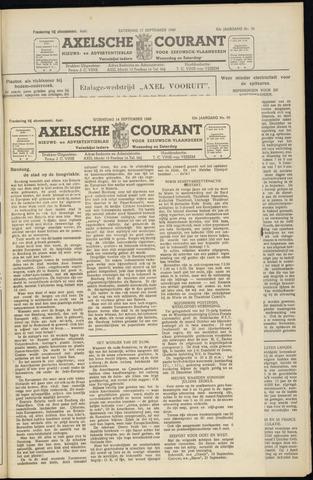 Axelsche Courant 1949-09-14