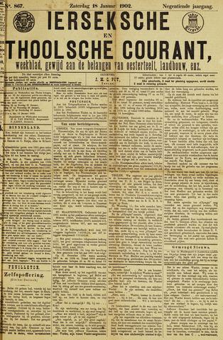 Ierseksche en Thoolsche Courant 1902-01-18