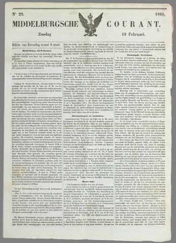 Middelburgsche Courant 1865-02-19