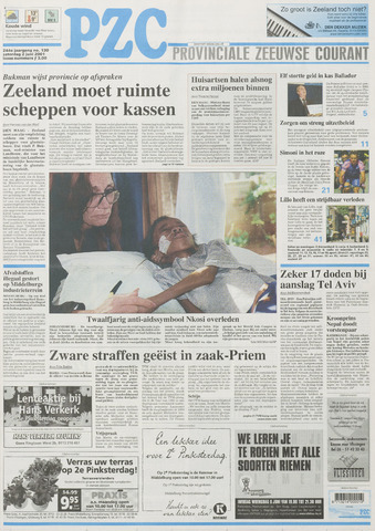 Provinciale Zeeuwse Courant 2001-06-02