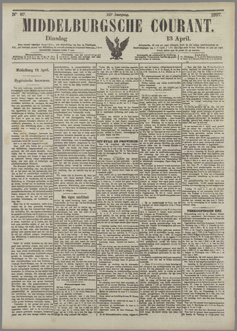 Middelburgsche Courant 1897-04-13