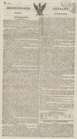 Middelburgsche Courant 1829-01-27