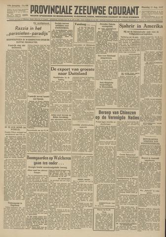 Provinciale Zeeuwse Courant 1947-08-11