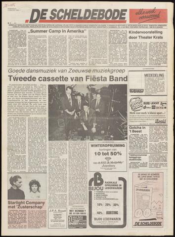 Scheldebode 1989