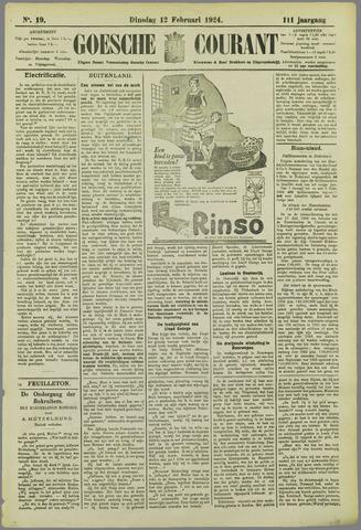 Goessche Courant 1924-02-12