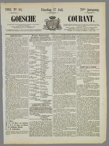 Goessche Courant 1883-07-17