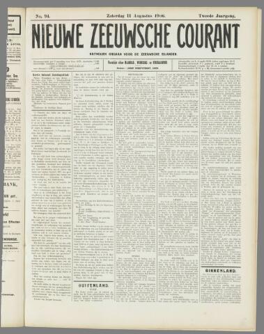 Nieuwe Zeeuwsche Courant 1906-08-11