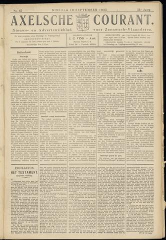 Axelsche Courant 1935-09-10