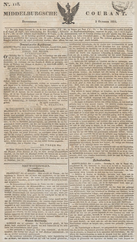 Middelburgsche Courant 1834-10-02