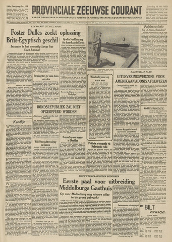 Provinciale Zeeuwse Courant 1953-05-16
