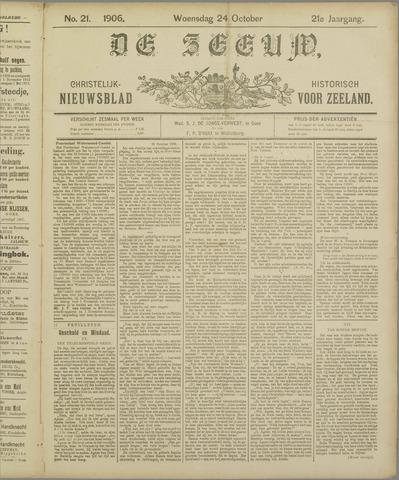 De Zeeuw. Christelijk-historisch nieuwsblad voor Zeeland 1906-10-24