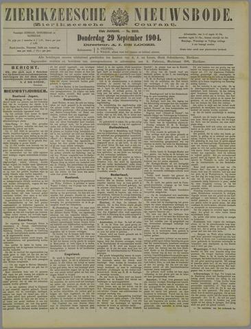 Zierikzeesche Nieuwsbode 1904-09-29