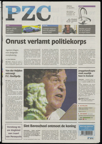 Provinciale Zeeuwse Courant 2013-05-31