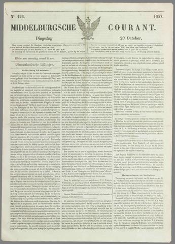 Middelburgsche Courant 1857-10-20