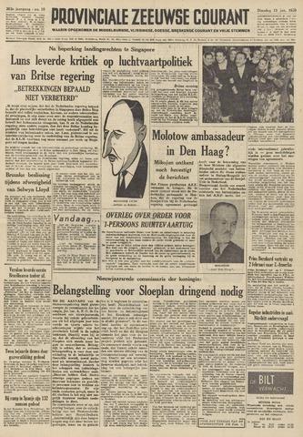 Provinciale Zeeuwse Courant 1959-01-13