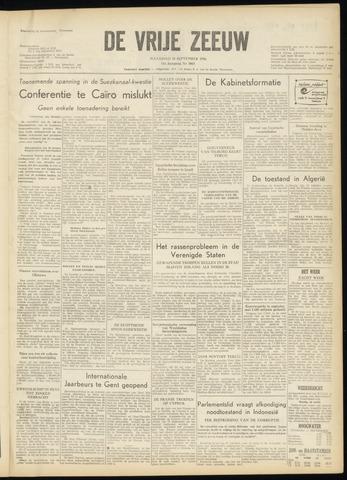 de Vrije Zeeuw 1956-09-10