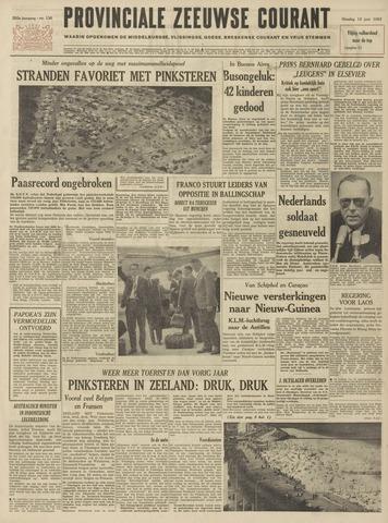 Provinciale Zeeuwse Courant 1962-06-12