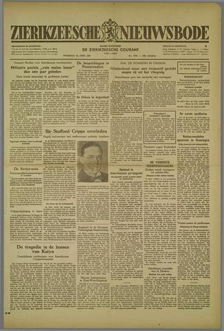 Zierikzeesche Nieuwsbode 1952-04-23