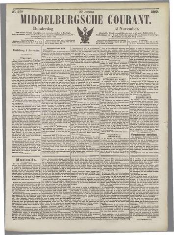 Middelburgsche Courant 1899-11-02