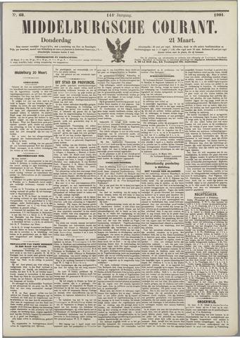 Middelburgsche Courant 1901-03-21