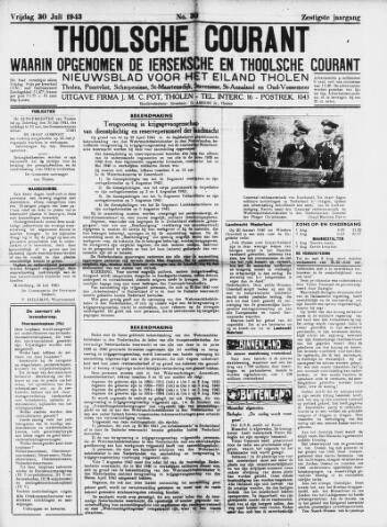 Ierseksche en Thoolsche Courant 1943-07-30