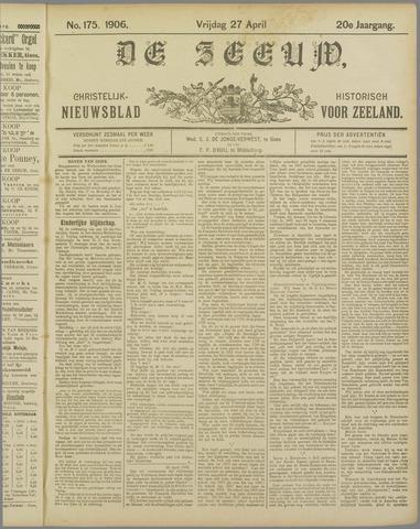 De Zeeuw. Christelijk-historisch nieuwsblad voor Zeeland 1906-04-27